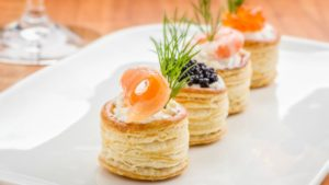 Dare with canapes for Christmas